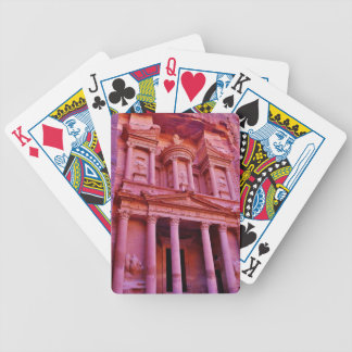 Petra Treasury Building Bicycle Playing Cards