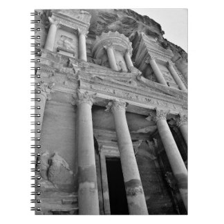 Petra Treasury Building Note Book