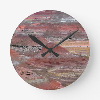 Petrified Forest 2 Round Clock