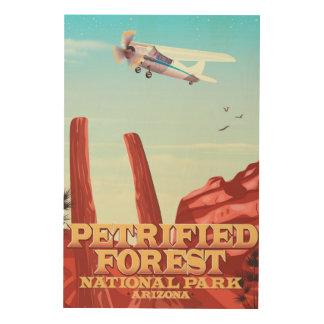 Petrified forest national park, Arizona. Wood Wall Decor