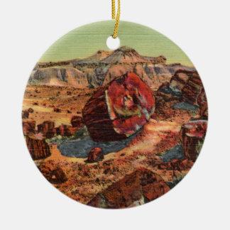Petrified Forest Vintage Arizona Ornament