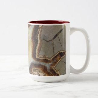 Petrified Mud Rock Two-Tone Coffee Mug