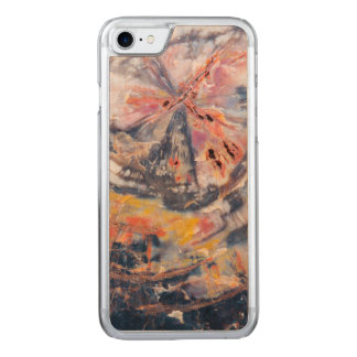 Petrified wood detail, Arizona Carved iPhone 8/7 Case