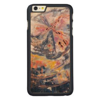 Petrified wood detail, Arizona Carved® Maple iPhone 6 Plus Case