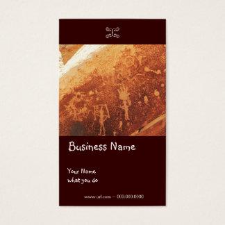 Petroglyph Business/Earring card