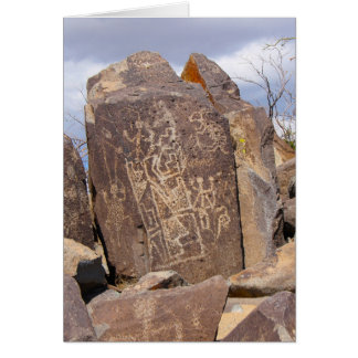 Petroglyph Gallery - Three Rivers Petroglyph Site, Card