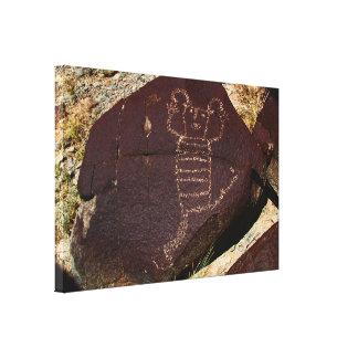 Petroglyph, Koshari Clown Dancer Canvas Print