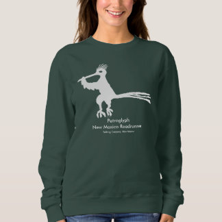Petroglyph, New Mexico Road Runner Sweatshirt