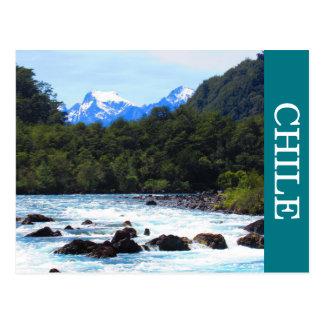 petrohue river postcard