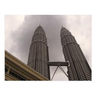 Petronas Towers Postcard