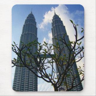 petronas twin towers kl mouse pad