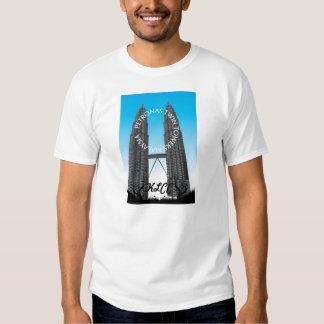 Petronas Twin Towers KLCC T-shirts