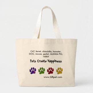 Pets Create Happiness Carrying Bag