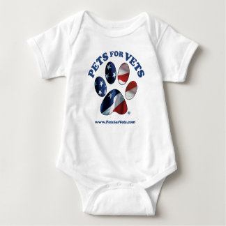 Pets for Vets Baby Bodysuit