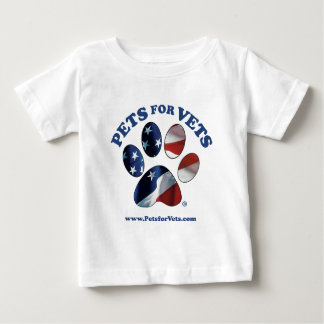 Pets for Vets Baby T-Shirt