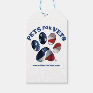 Pets for Vets Gift Tags