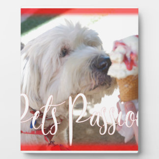Pets Passion Plaque