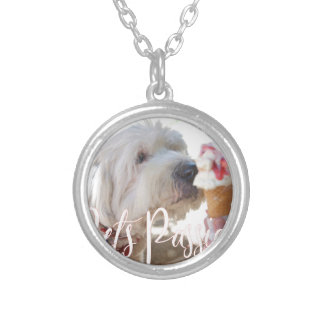 Pets Passion Silver Plated Necklace