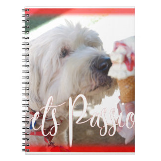 Pets Passion Spiral Notebook