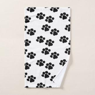 Pets Paw Prints Hand Towel