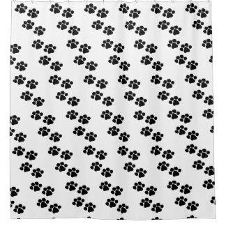 Pets Paw Prints Shower Curtain