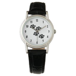 Pets Paw Prints Watch