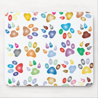 Pets Paws Mouse Pad