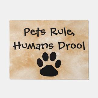Pets Rule Doormat