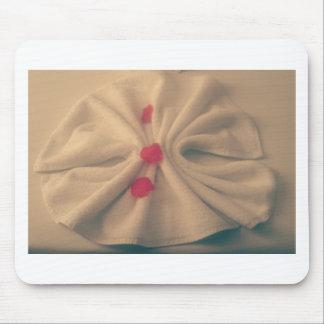 Pettels on towel mouse pad