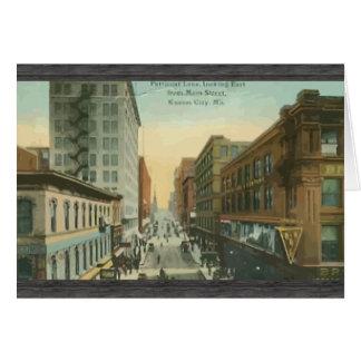 Petticoat Lane,Kansas City, Vintage Greeting Card