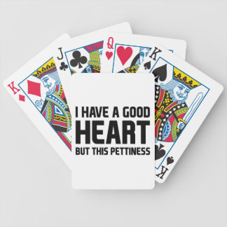Pettiness Bicycle Playing Cards