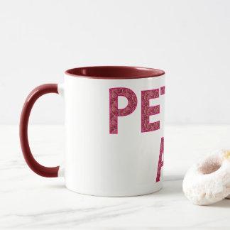 PETTY A.F. Mug