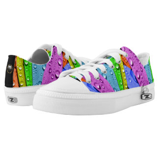 """Petty Dynasty """"Mixed Emotions"""" Canvas Shoes"""