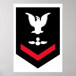Petty Officer Third Class - AO - Poster