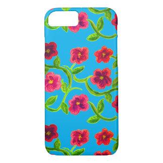 Petunia Flower Design on Sky Background iPhone 8/7 Case