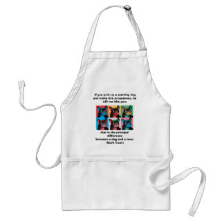 Petunia  ,  If you pick up a starving dog ... Adult Apron