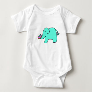 Petunia the Elephant - Sprinkle Donut Baby Bodysuit