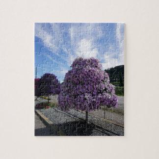 Petunia Tree at The Greenery in Kelowna Jigsaw Puzzle