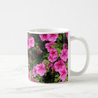 Petunias and lawn coffee mug