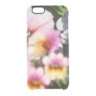 Petunias and Nemesia Clear iPhone 6/6S Case