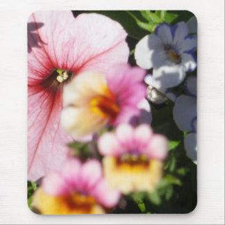 Petunias and Nemesia Mouse Pad
