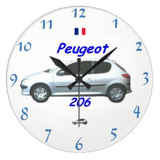 Peugeot 206 Wall Clock