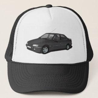 Peugeot 405 black trucker hat