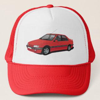 Peugeot 405 red trucker hat