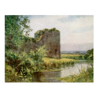 Pevensey Castle Postcard