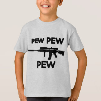 Pew pew gun T-Shirt