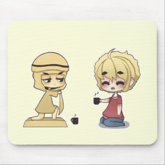 Pewdiepie and Stephano Mousepad