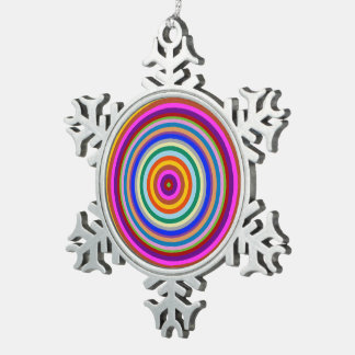 Pewter Snowflake Goodluck  charm chakra ornament