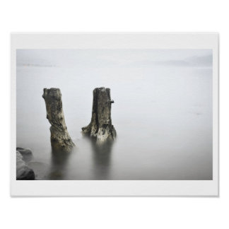 Pewter Water Poster