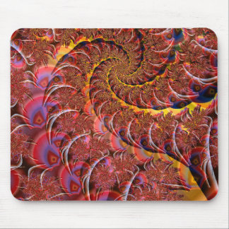 Peyote Whirls Mouse Pad